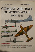 Combat Aircraft of World War II 1944-1945 Poster Book Volume VIII Reference Book