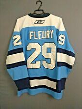 Fleury Pittsburgh Penguins Hockey Jersey Size 52 Mens Long Sleeve Reebok ig93