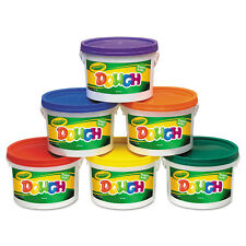 Crayola Modeling Dough Bucket 3 lbs. Assorted 6 Buckets/Set 570016