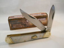 NEW BULLDOG FROST CUTLERY POCKET KNIFE -  MOTHER OF PEARL COPPERHEAD