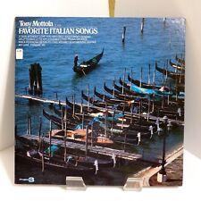 "1979 Tony Mottola ""Plays Favorite Italian Songs"" Project 3 PR5032 Mint Stereo LP"