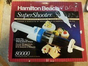 Super Shooter Cookie Food Decorator Cordless 8000