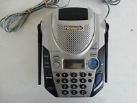 Panasonic kx-tg2583s 2.4 ghz cordless phone main base only with power adapter