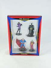 DC COMICS Figures BATMAN Catwoman SUPERMAN Joker 1999 Warner Bros Studio Store
