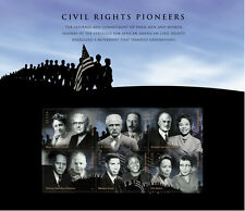 Stamp Sheet - Civil Rights Pioneers - 2009 Issue