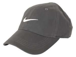 Nike Youth's Embroidered Swoosh Logo Cotton Baseball Cap Sz: 4/7