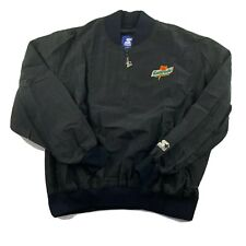 Starter Gatorade Vintage Nylon Jacket Men's Size XL Pullover 1/4 Zip Embroidered