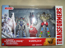 Transformers Silver Knight Optimus Prime & Grimlock 2-Pack Exclusive! NEW!