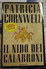 Patricia CORNWELL, IL NIDO DEI CALABRONI, Mondadori 1997 kay scarpetta