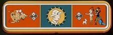 Herge Tintin plumier metal Congo