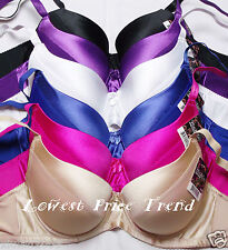 Pack of 6 pcs Push-Up Bras Lot,Underwire Padded  38DD New BR9072PDD