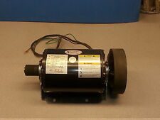 Motor 2 HP 1.5 KW 240V 3 phase 60Hz double ended shaft  resilient base