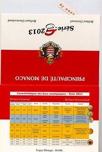 MONACO 2013 da divisionale  BU e 2 euro COMM SCEGLI QUELLE CHE TI INTERESSANO