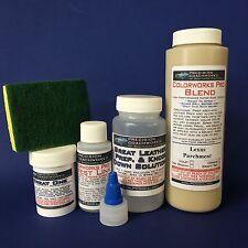 Colorworks Pro Leather / Vinyl Repair Kit - Lexus Parchment