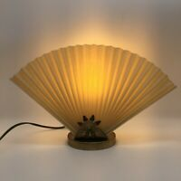 VINTAGE MID CENTURY MODERN TV LAMP FAN SHADE WORKS