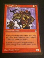 Magic MTG Tradingcard Stronghold 1998 Mogg Bombers