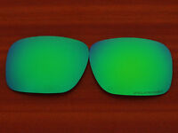 Replacement Green Blue Polarized Lenses for-Oakley Holbrook Sunglasses OO9102