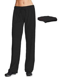 Champion M7421 Womens Jersey Pant 2 Pack Large Black Warm-Up Pant Training