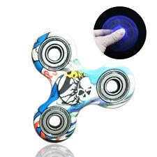Hand Fidget Spinner Game Tri-Spinner Bearing Toys Cartoon Cool Kids Desk Toys