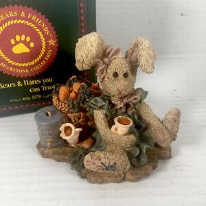 "Vintage Boyds Bears & Friends ""Carrot Juice"" Rabbit 1994"