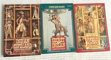 Indian In The Cupboard 3-Book Set Vintage 1980s YA Fiction Paperback Stories P-1