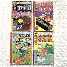 Richie Rich Comic Books 79 Gloria Chef Pierre Suspicion Money Bees 10 26 41 42