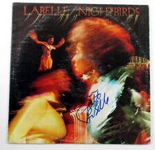 Patti LaBelle Signed LP Record Album Nightbirds w/ AUTO DF018623