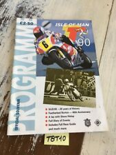 isle of Man Tourist Trophy 1990 TT Cycle official racing motorrad route IOMTT