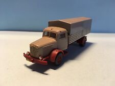 Wiking Bussing Truck 47 S Green/Grey 1/87 Scale Used Condition