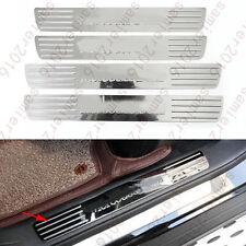 4x Inner Scuff Plate Door Sill Cover Trim For Mercedes-Benz GLS Class X204 2017