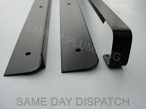 Kitchen Worktop Edging Strip, End,Corner,Straight, Black, Silver, 30mm, 40mm