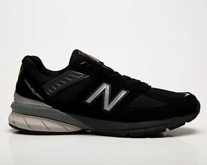 New Balance M990 Made In USA Men's Black Casual Athletic Lifestyle Sneakers Shoe