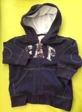BABY GAP HOODIE SLIGHTLY USED-SIZE 12-18 Months