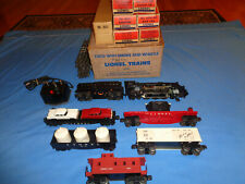 Lionel #1603WS Whistling Mountain Climber Steam Freight Set w/boxes, 2037 Loco
