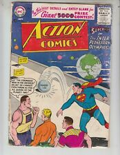 """Action 220 Fair (1.0) 9/56 Superman in """"The Interplanetary Olympics!"""""""