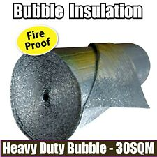 30M2 RADIANTSHIELD AIR BUBBLE CELL INSULATION REFLECTIVE FOIL ROOF ALUMINIUM
