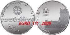 2,50  €   PORTUGAL   COMMEMORATIVE  TOUR  DE  BELEM  UNESCO   2009    disponible