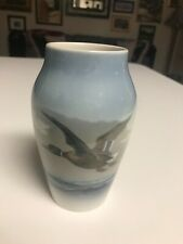 "SUPERB 5 3/8"" Royal Copenhagen #1087 MALLARD DUCK IN FLIGHT VASE  MINT CONDITION"