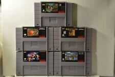 Super Nintendo Game Lot (SNES) 5 Games -Lester the Unlikely + MechWarrior 3050 +