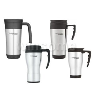 Thermos Flask Insulated Travel Mug Hot Warm Coffee Tea Drink Outdoor Thermal Cup