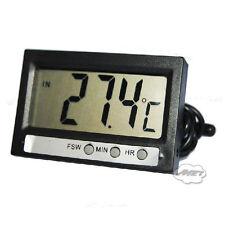 -50~70℃ LCD Panel Digital Car Thermometer Temperature Meter Probe Sensor Clock