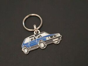 Key Ring Profile Volkswagen Golf Gti, LX (Blue)
