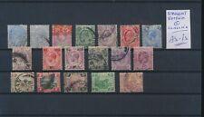LL96784 Malaya Straits settlements classic stamps fine lot used