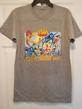 New Teen Titans Group Adult Small Vintage Comic Book T-Shirt