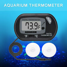 Digital Lcd Fish Tank Aquarium Marine Thermometer Water Terrarium Temperature us