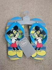 Flip flops BNWT Sandals Disney store shoe size 9-10 Mickey mouse boys Brand new