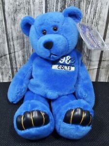 Limited Treasures Pro Bear - NFL Indianapolis Colts Peyton Manning #18 Blue 1998
