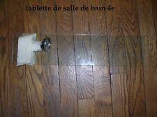 *******Étagère Murale en Verre pour Salle de Bain - Tablette Lavabo ******