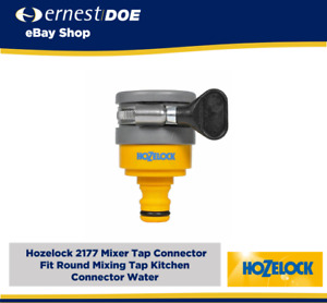 Hozelock 2177 Mixer Tap Connector Fit Round Mixing Tap Kitchen Connector Water