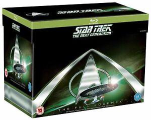 Star Trek Next Generation Season 1 2 3 4 5 6 7 The Complete Series RB Blu-ray